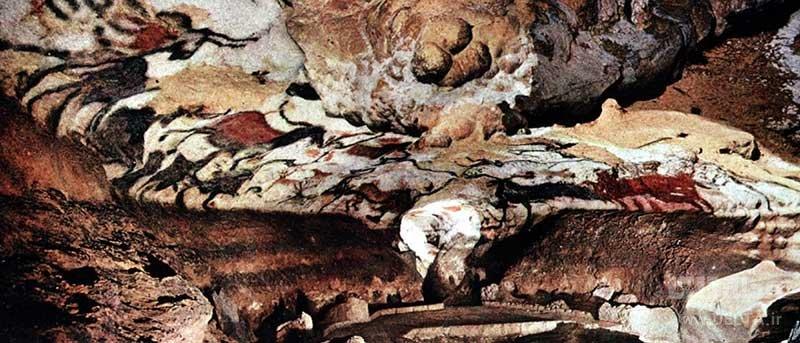 غارهای Lascaux در فرانسه، از مکان های ناشناخته جهان