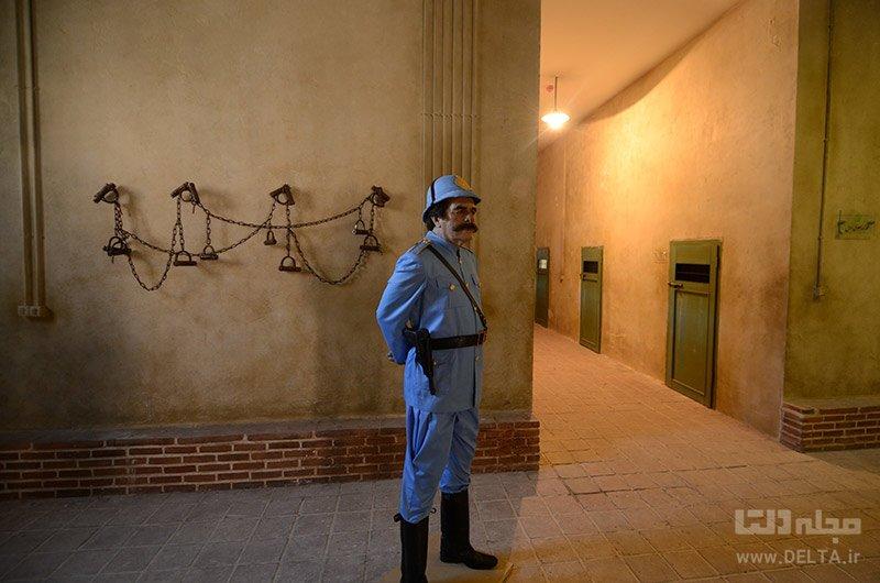 زندان قصر، باغ موزه قصر تهران