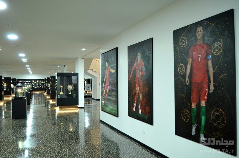 موزه کریستیانو رونالدو در شهر فونچال در پرتغال
