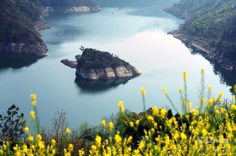 جزیره لاک پشتی چین را ببینیم
