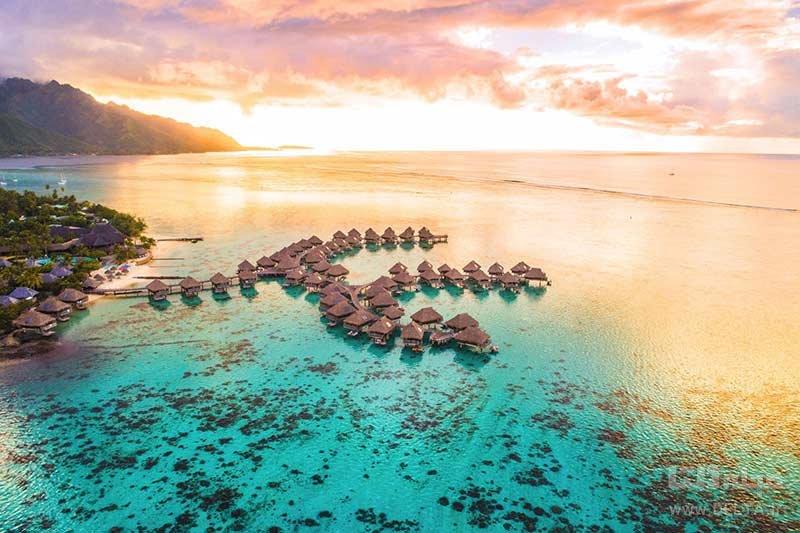 تاهیتی از مقاصد امن برای سفر در کرونا