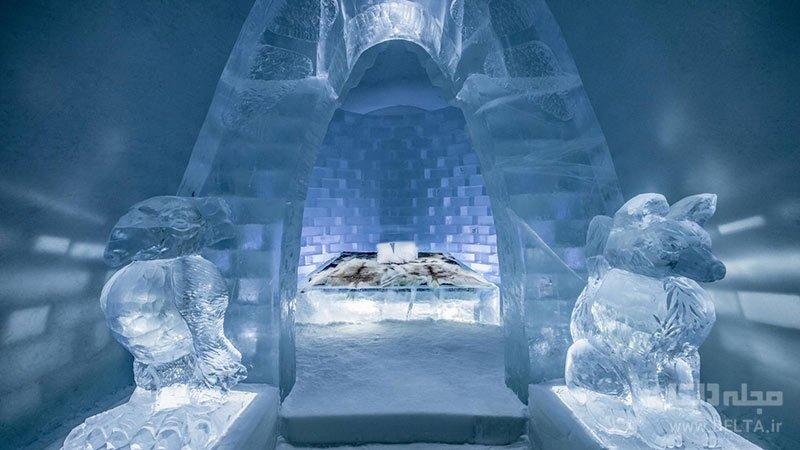 هتل یخی سوئد یا آیس هتل