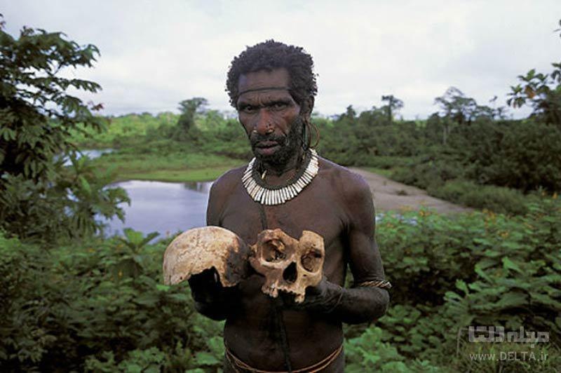 آدمخوارها در استان پاپوآ در اندونزی