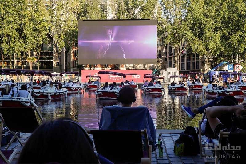 سینمای شناور پاریس