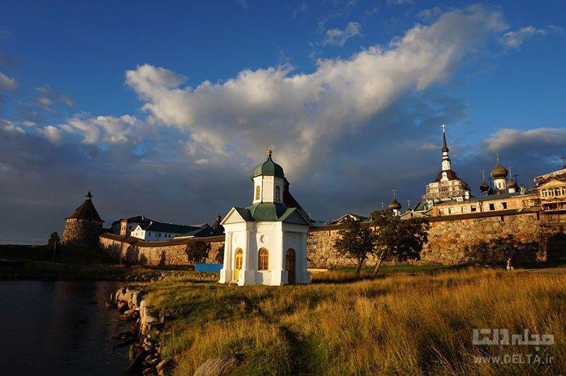 صومعه سولووکی در جزایر سولووتسکیه