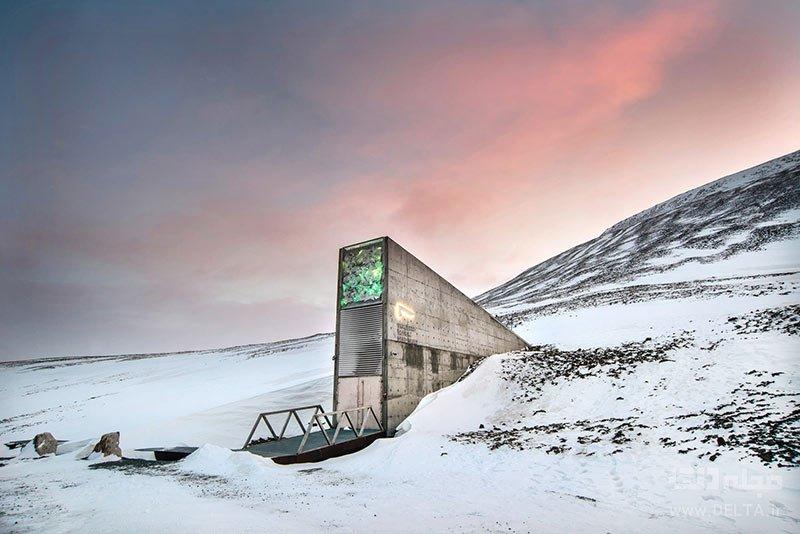 طاق سوالبرد در نروژ، از مکان های ناشناخته جهان