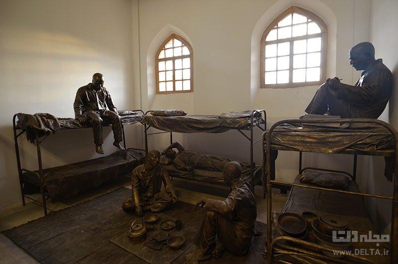 اولین زندان متمرکز پایتخت، باغ موزه قصر تهران