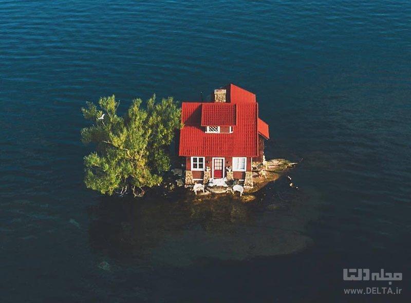 مساحت کوچک ترین جزیره جهان