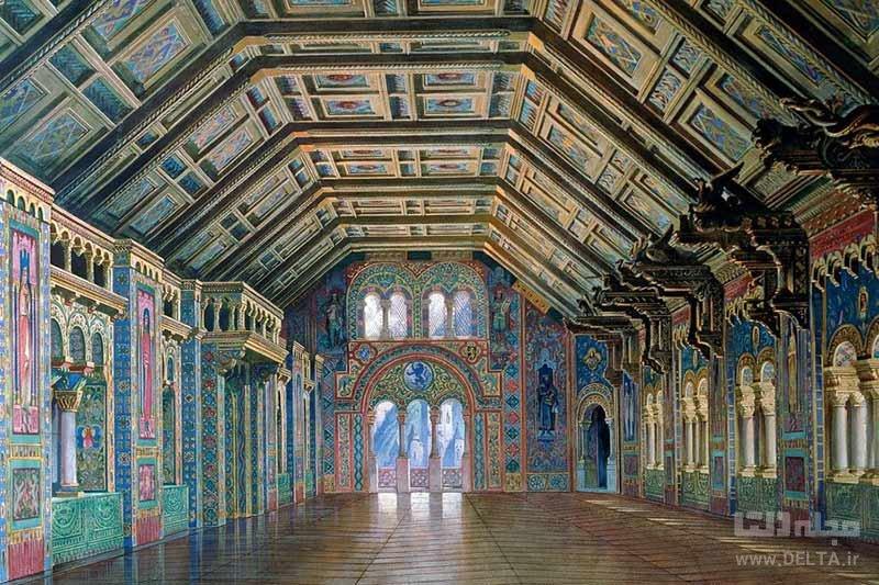 قلعه نوی شوان اشتاین اثر لودویگ دوم