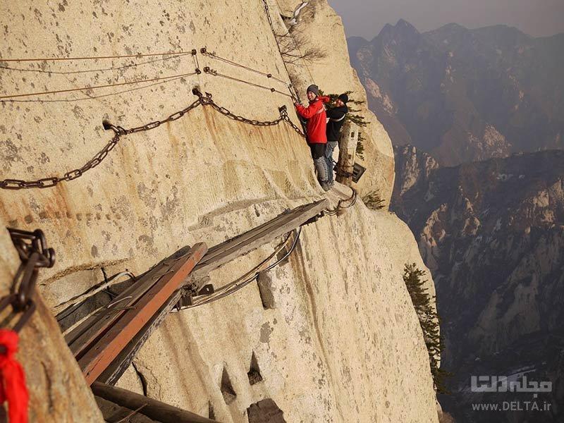 گذرگاه هوآشان در چین