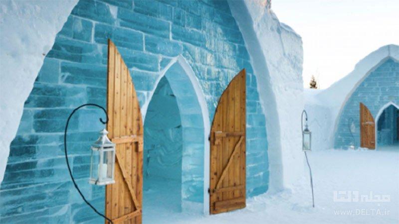 داستان ساخته شدن هتل یخی سوئد