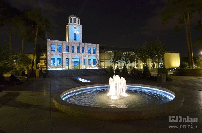 معماری باغ موزه قصر تهران