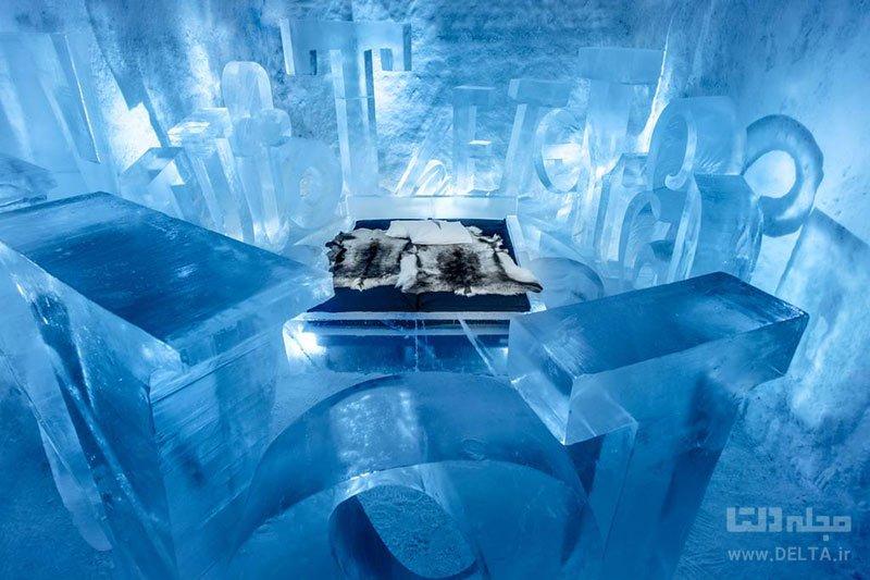 هتل یخی سوئد ، یکی از جاذبههای توریستی سوئد