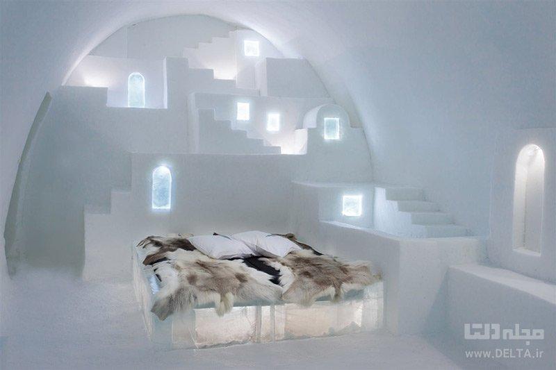 آیس هتل یا هتل یخی سوئد