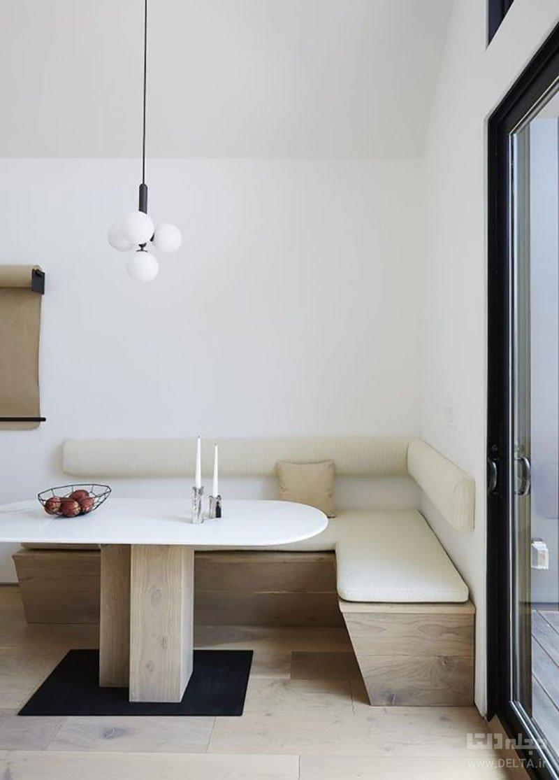 فضای غذاخوری در آشپزخانه