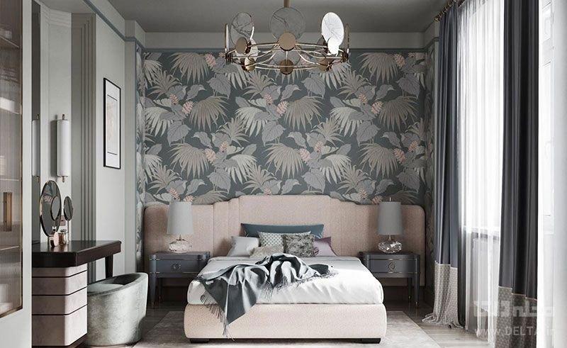 کاغذ دیواری مناسب برای اتاق خواب