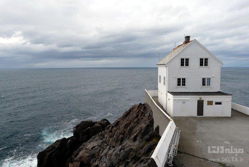 فانوس دریایی نروژی از عجیب هتل های دنیا