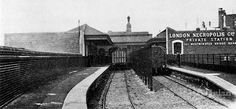 قطار مرده ها در لندن برای چه ایجاد شد؟