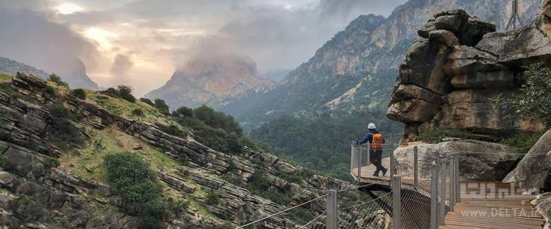 گذرگاه ال کامینیتو دل ری در اسپانیا از خطرناک ترین گذرگاه های دنیا