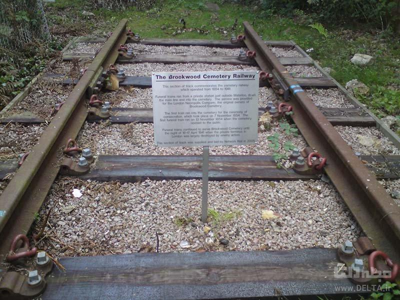 مسیر قطار مرده ها در لندن