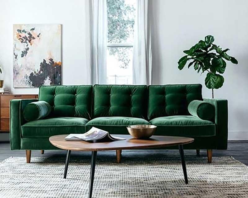 انتخاب فرش در دکوراسیون سبز