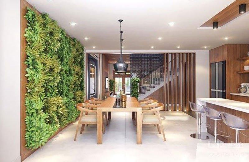 ارتباط طبیعت با فضای داخلی خانه