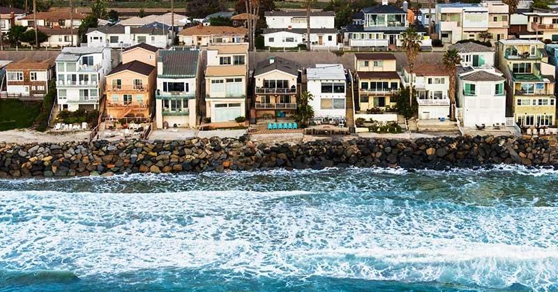 خطرات ناشی از بالا آمدن آب دریا