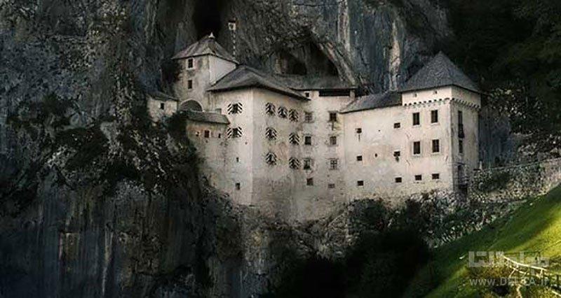 قلعه پردجاما اسلوونی تلفیق ترس و زیبایی