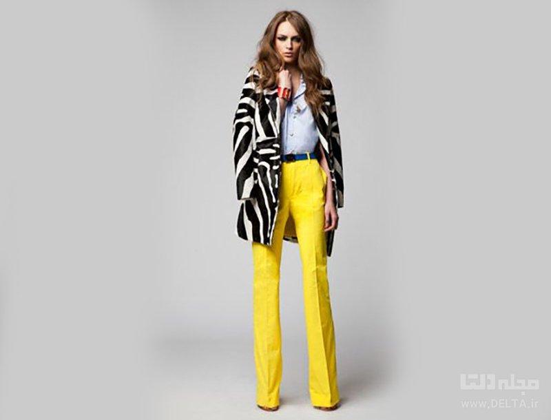 زرد در لباس