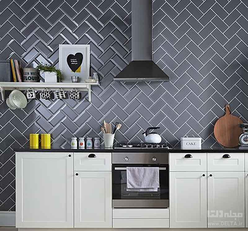 پوشش مناسب دیوار آشپزخانه