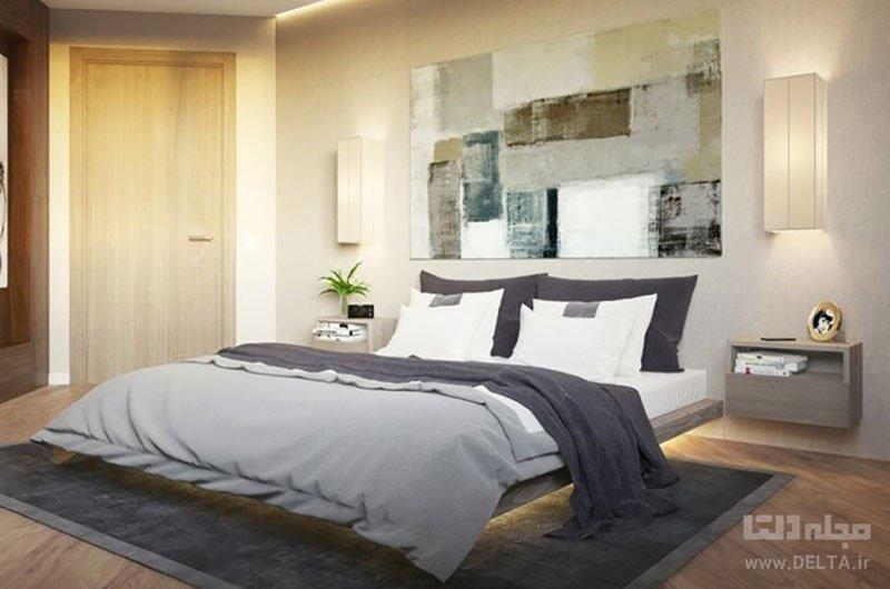 اتاق خواب تمیز و مرتب
