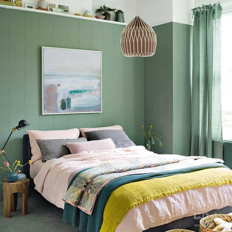 پرده عنصری مهم در تزیین اتاق خواب