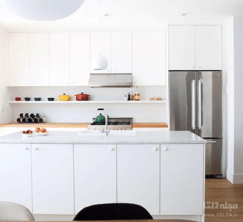 رنگ در آشپزخانه کوچک