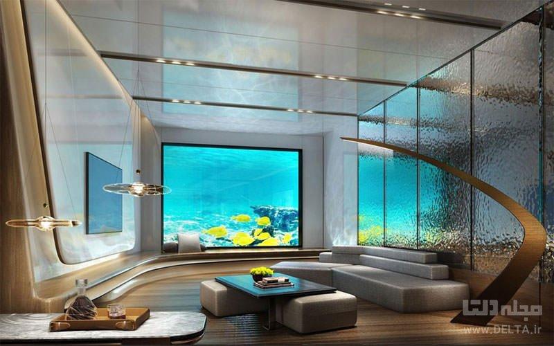 هتل زیر دریایی