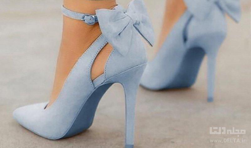 کفشهای پاشنه بلند با بند دور مچ
