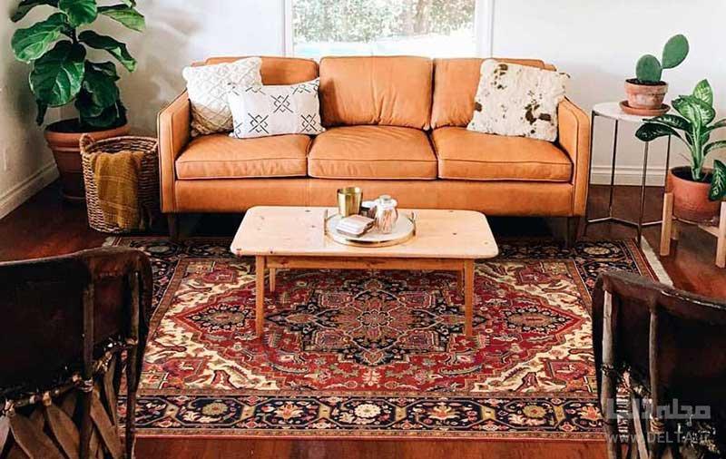 استفاده از فرش لچک ترنج