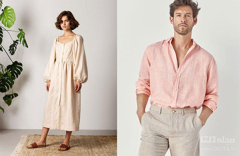 مدل لباس تابستانی نخی زنانه