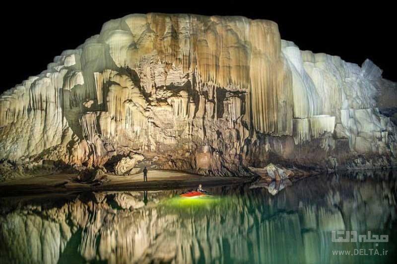بزرگترین غار رودخانهای جهان