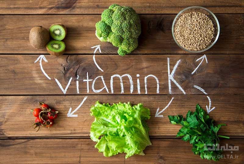 علائم کمبود ویتامین K