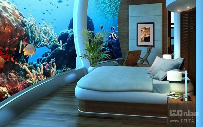 هتل های زیر دریایی