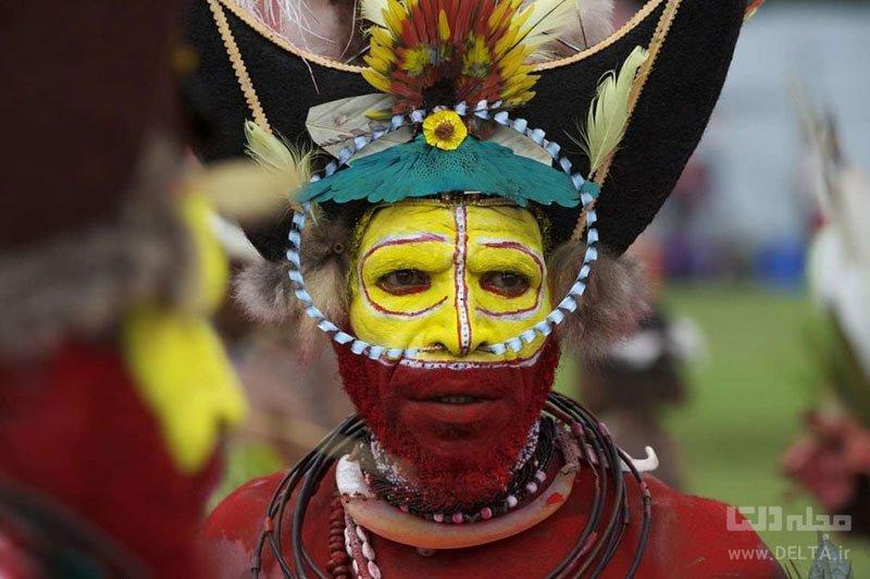 مردمان هولی پاپوآ گینه نو