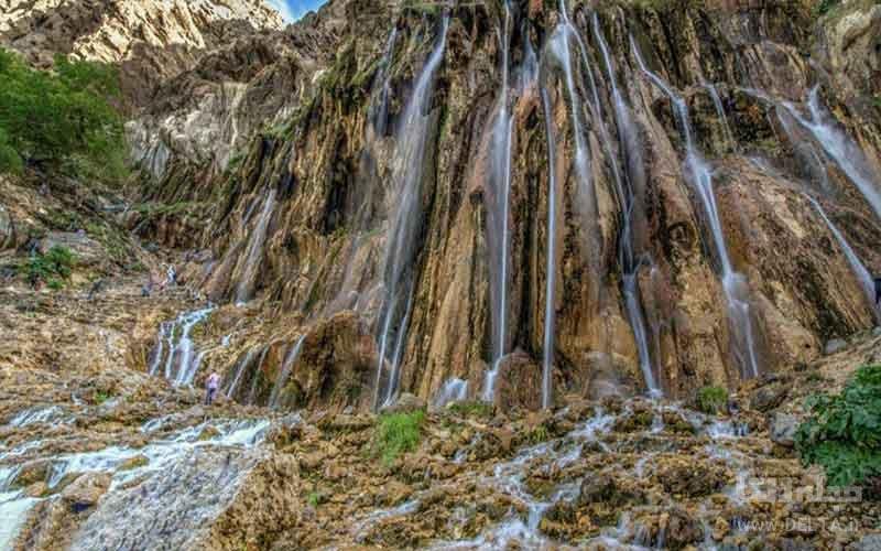 مارگون آبشاری چشمه ای