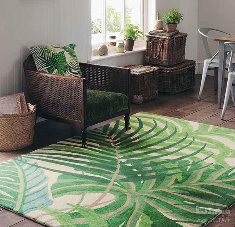 تاثیر فرش در چیدمان فضاهای خانه
