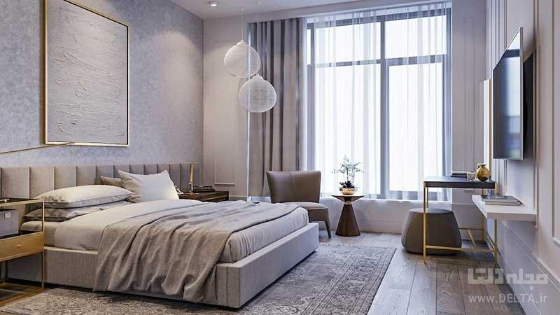 پرده مناسب اتاق خواب