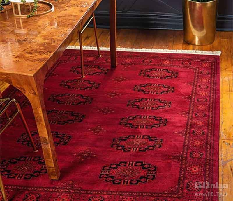 فرش قرمز بخارا