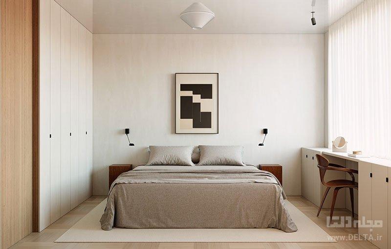 پرده اتاق خواب کوچک