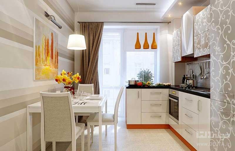 جنس پرده آشپزخانه