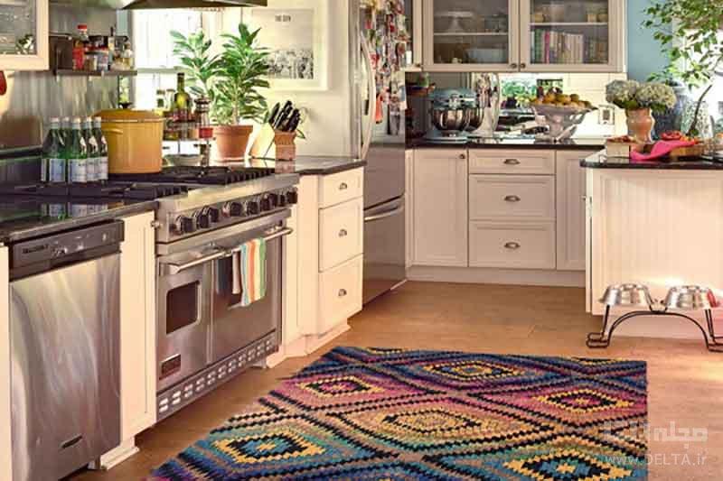 استفاده از فرش در آشپزخانه