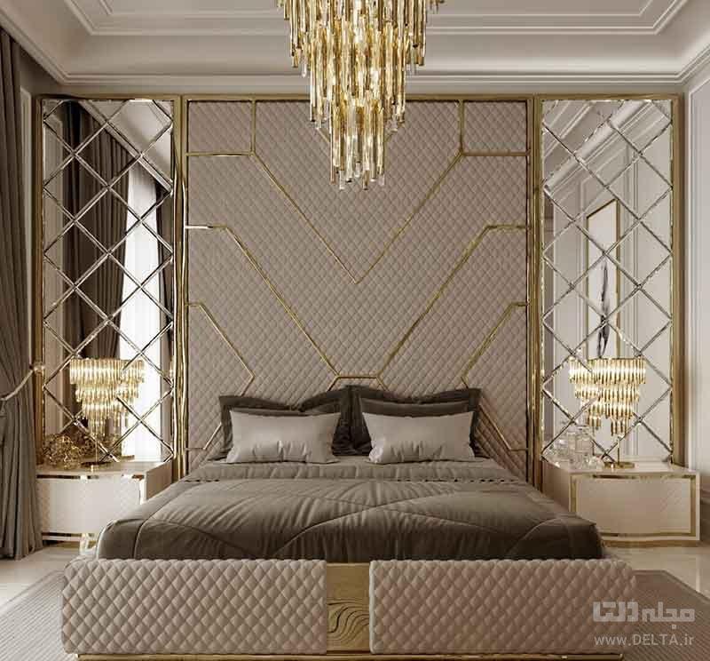 دیوار پشت تختخواب
