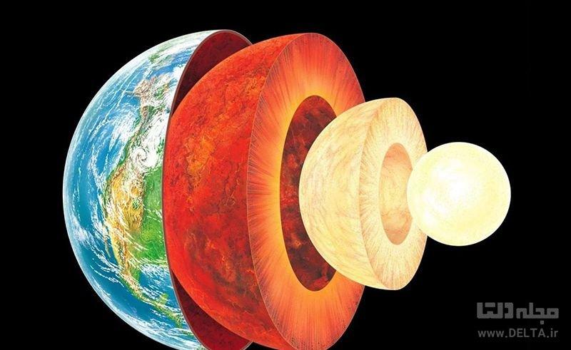 هسته داخلی زمین